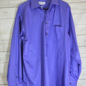 Van Heusen Wrinkle Free Purple Button Down shirt